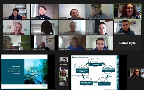 A successful virtual Training of Trainers seals our working week