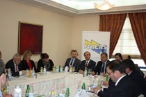 Executive Bureau Luncheon Meeting with Mayors from Albania